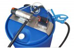 Electric pump on plate in stainless steel for urea Ad-Blue® water and antifreeze 12 volt